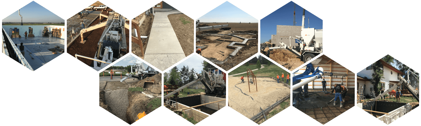 ON-Demand Concrete Projects